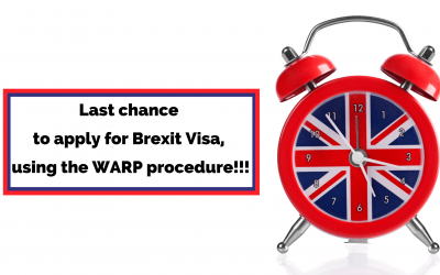 How to apply for Brexit Visa with the WARP procedure?