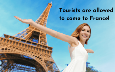 Tourists are allowed to come to France! – our first hand account.