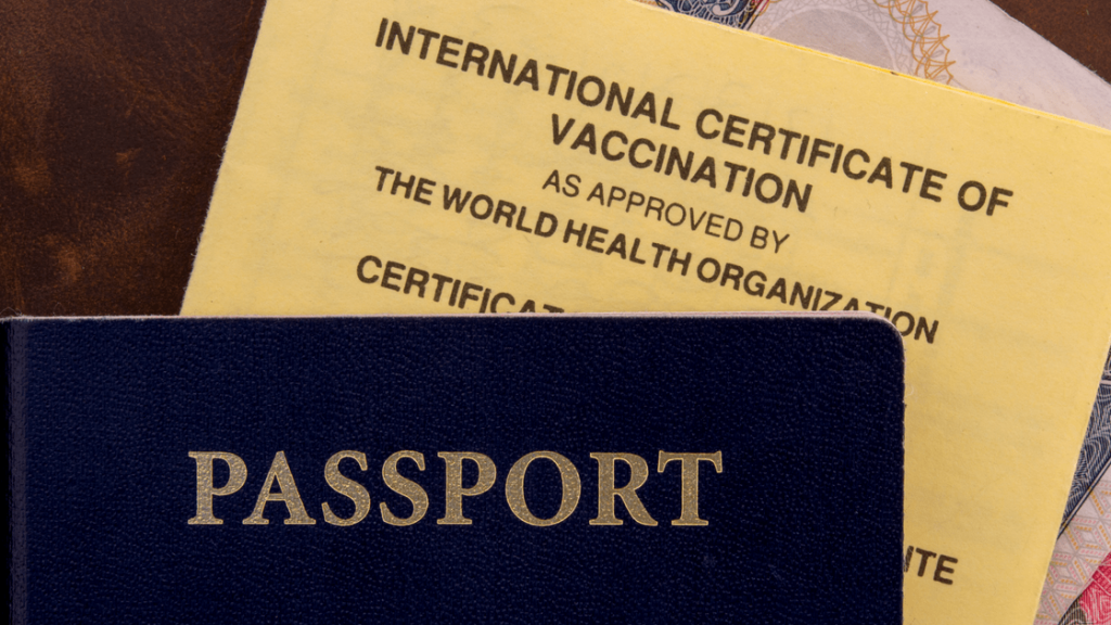 Tourists are allowed to come to France! vaccination card and passport