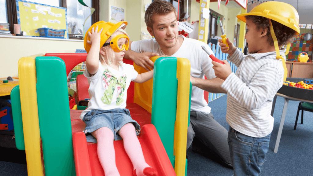 Childcare in France - kindergarten