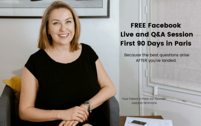 First 90 Days in Paris: FREE Facebook Live Q&A Session